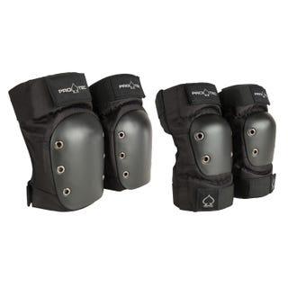 Knee/Elbow Pad Set - Black