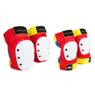 Knee/Elbow Pad Set - Retro
