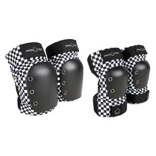 Street Knee/Elbow Pad Set - Checker